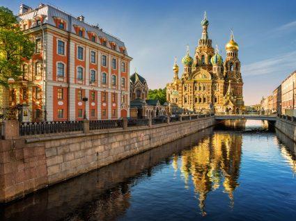 Vista de São Petersburgo