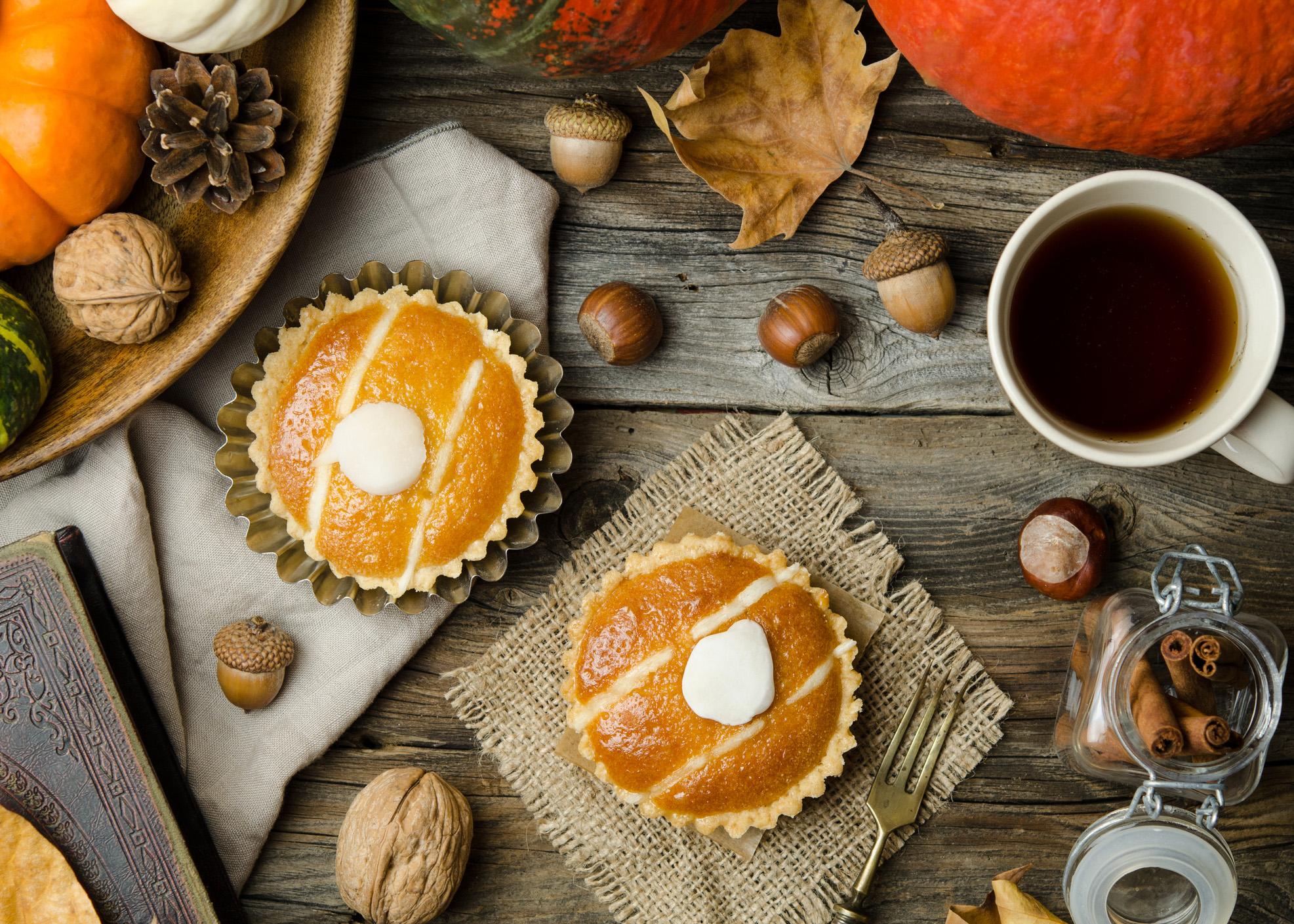 tartes pequenas outono