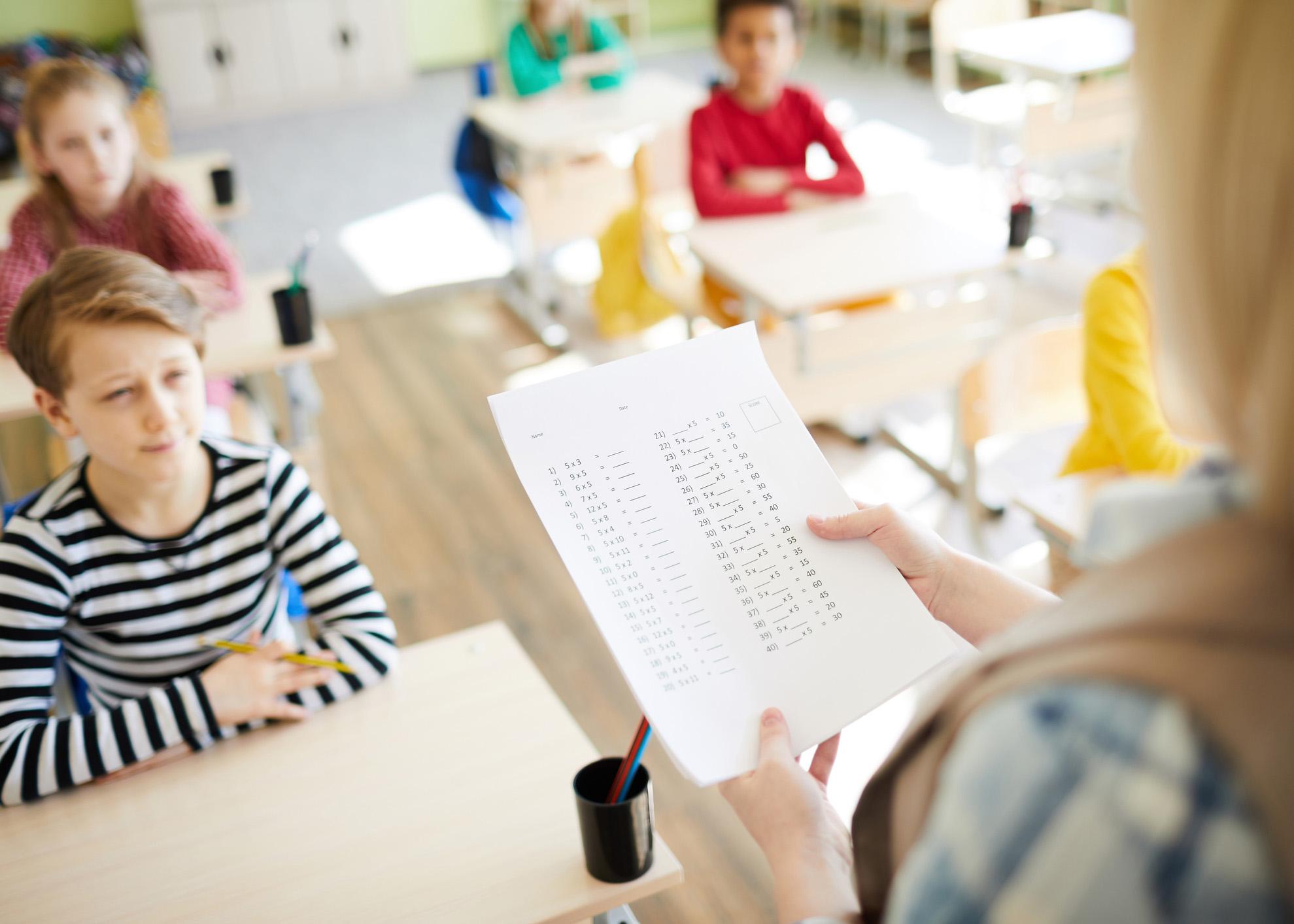 teste sala de aula