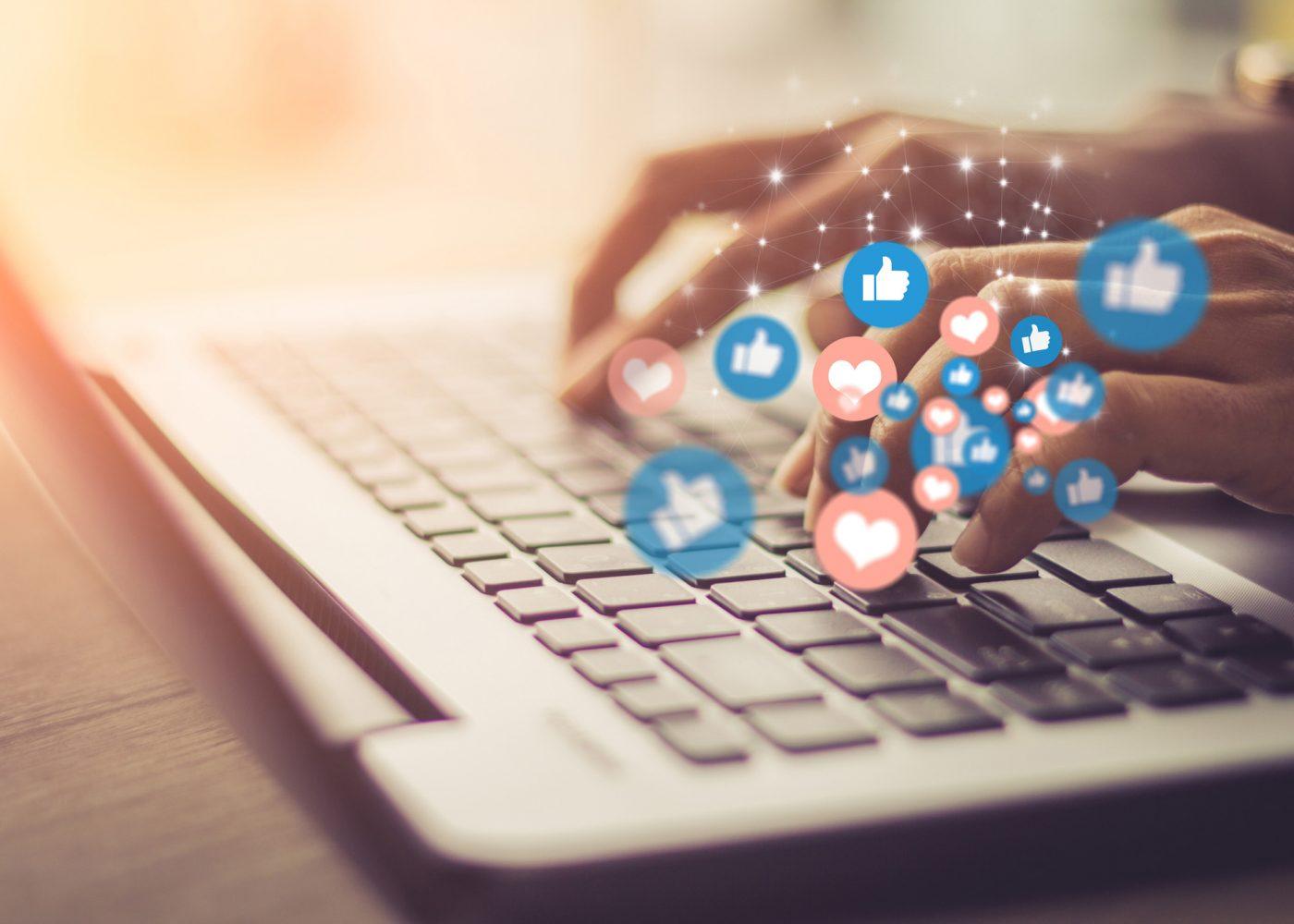 trabalhar redes sociais