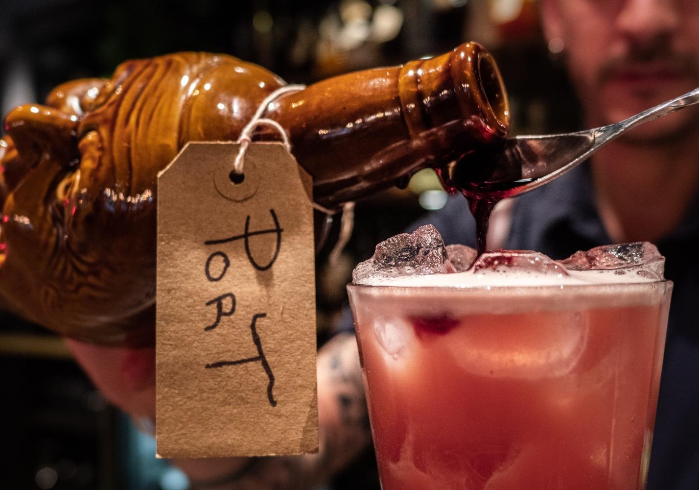 Vinho do porto cocktais