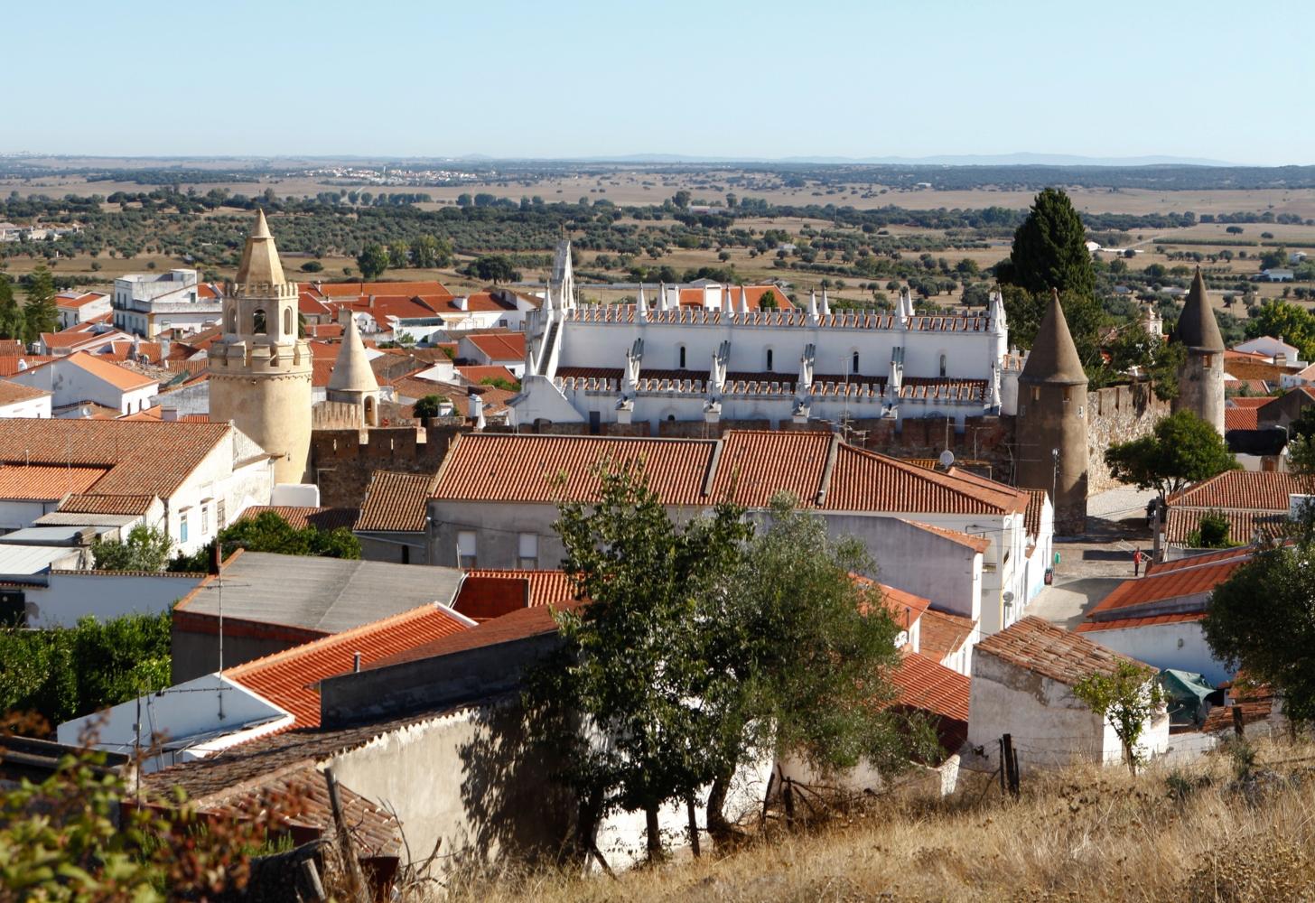 Vista geral de Viana do Alentejo