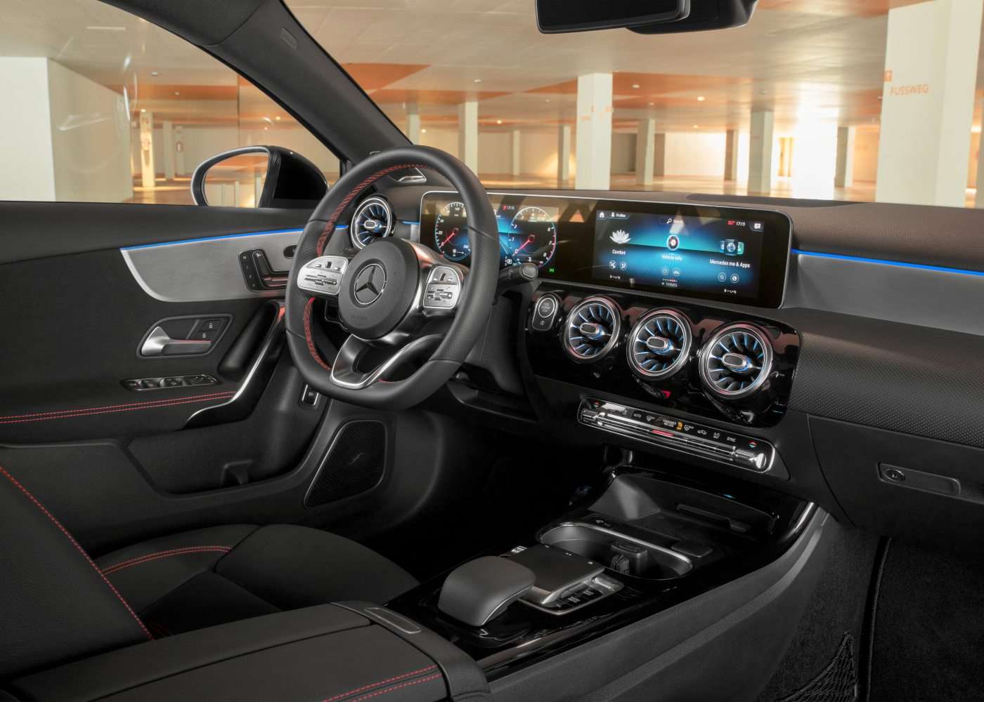 Interior Mercedes Classe A Limousine