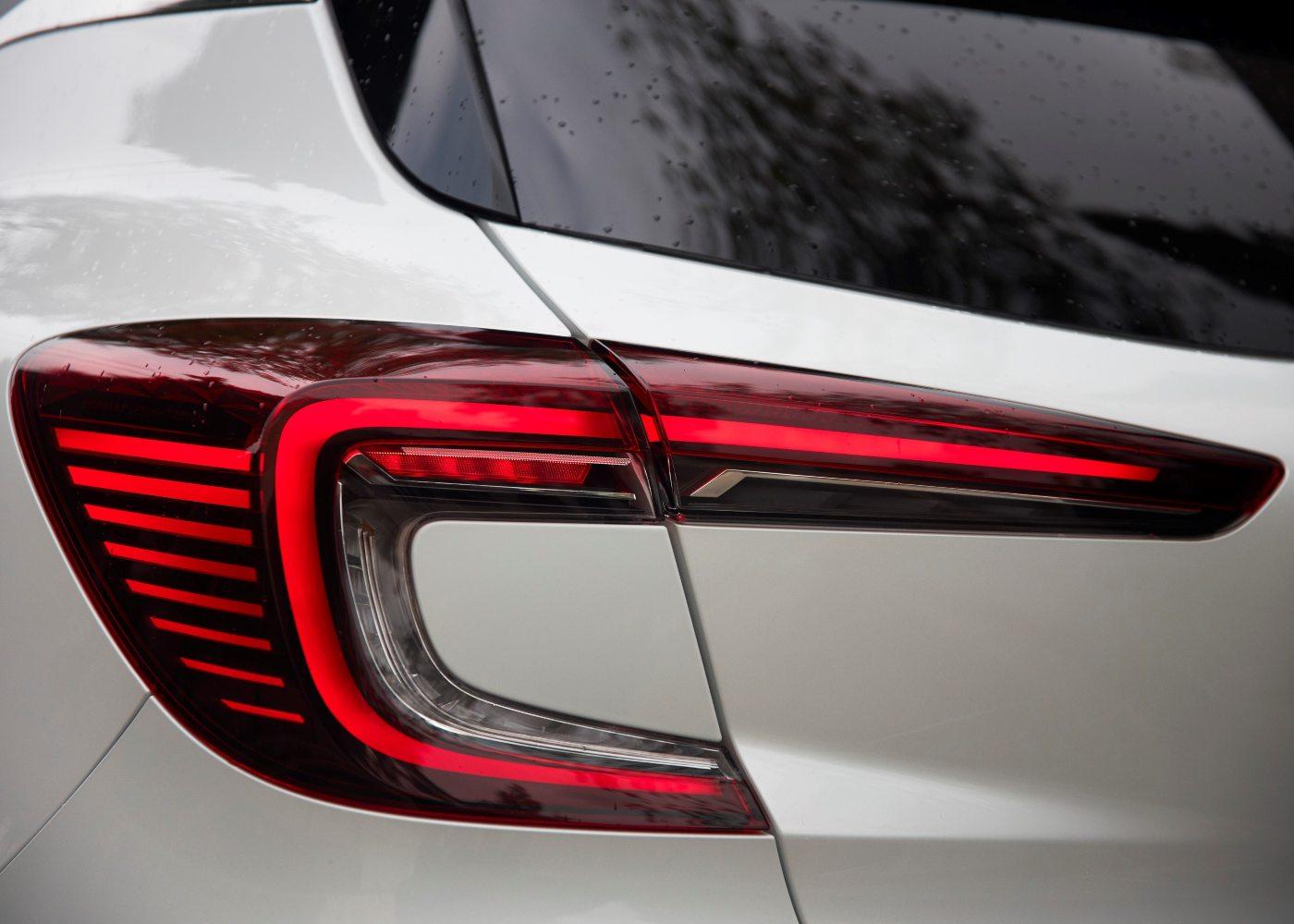 Luzes novo Renault Captur