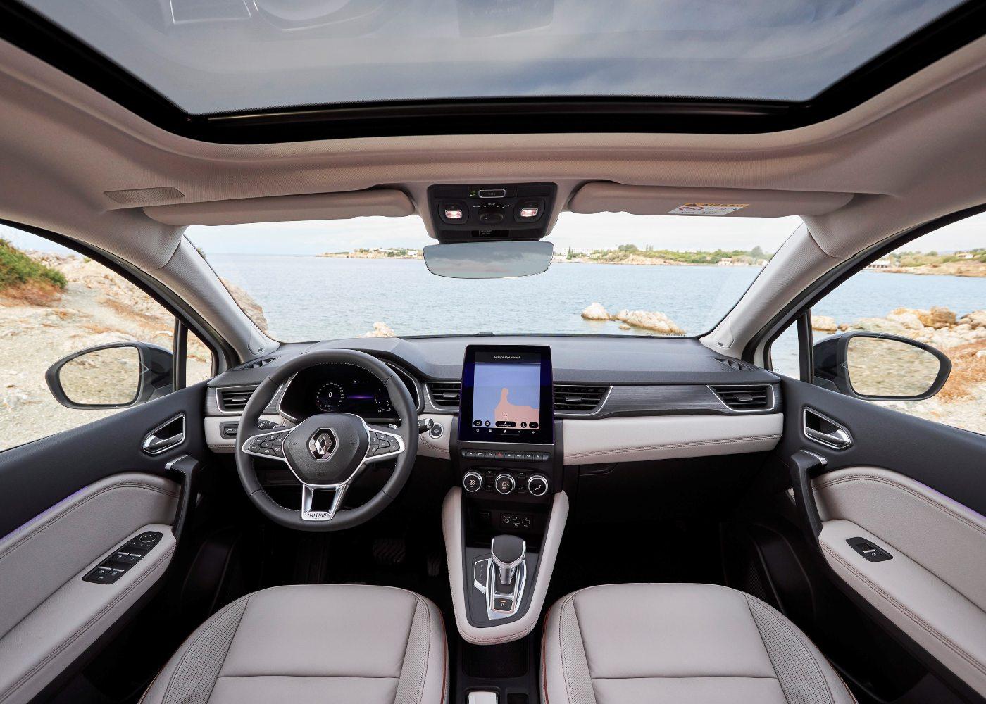 Interior novo Renault Captur
