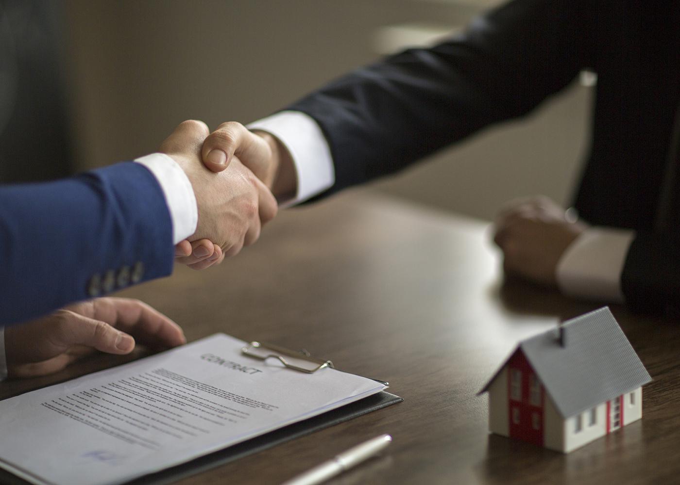 acordo para comprar casa