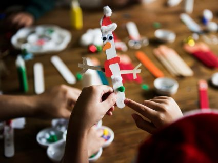 atividades de natal para educação infantil com materiais recicláveis