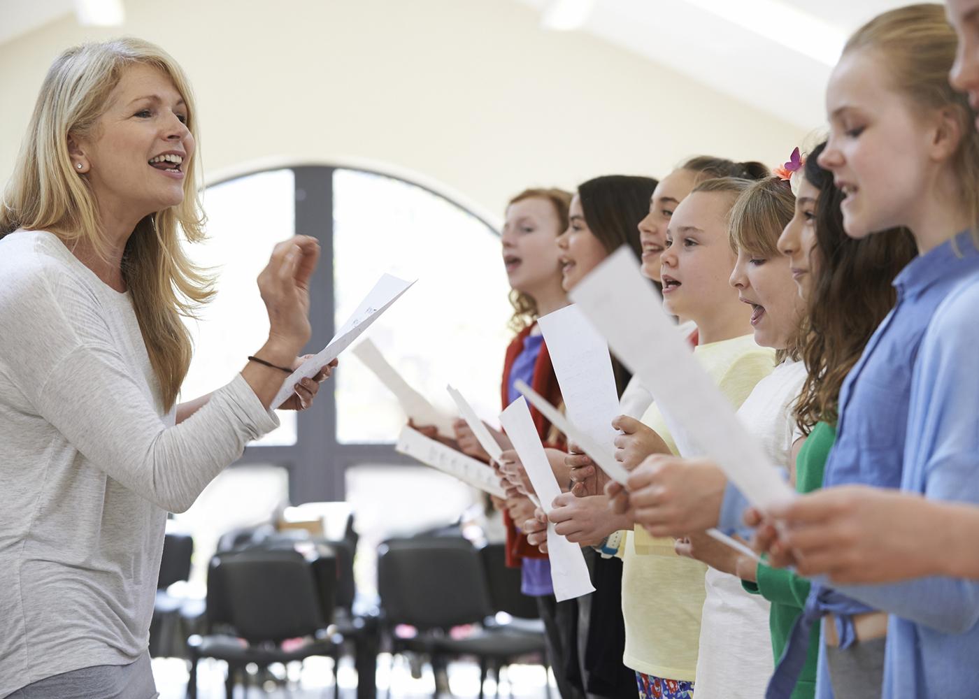 aula de música jovens