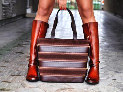 Botas de cano alto de mulher