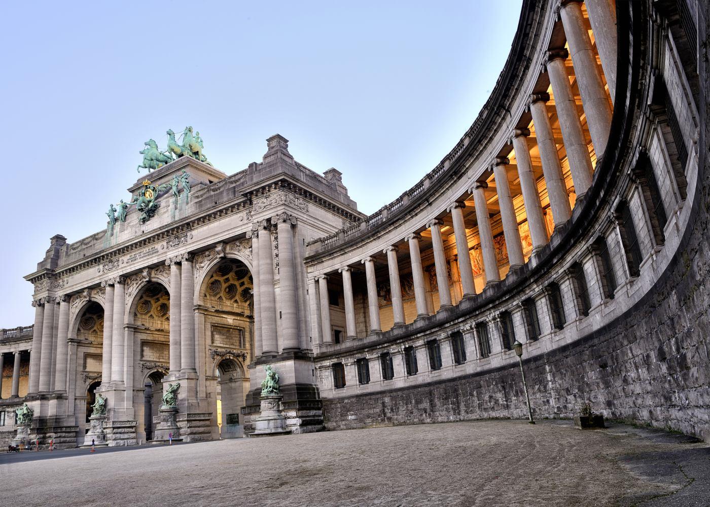Arco do triunfo em Bruxelas