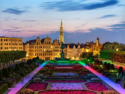 Parque público em Bruxelas