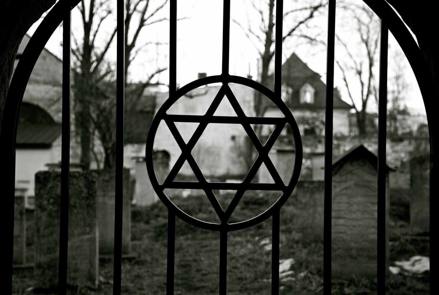 Cemitério judeu em Cracóvia