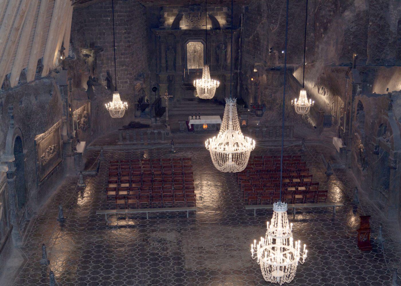 Capela de St. Kinga em Cracóvia