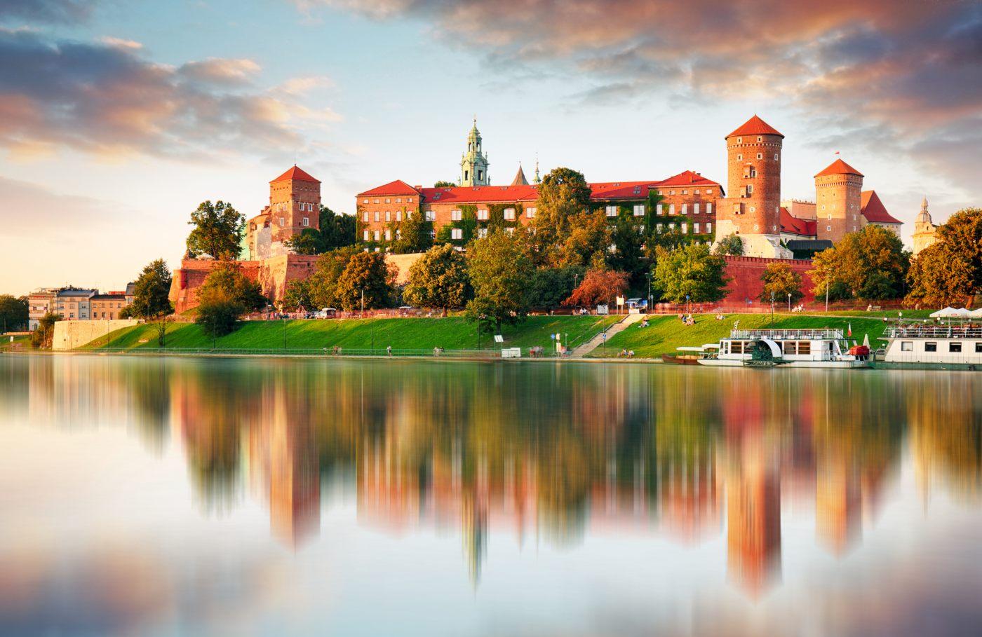 Castelo em Cracóvia