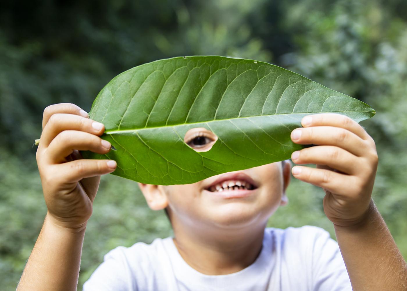 crianças e ambiente
