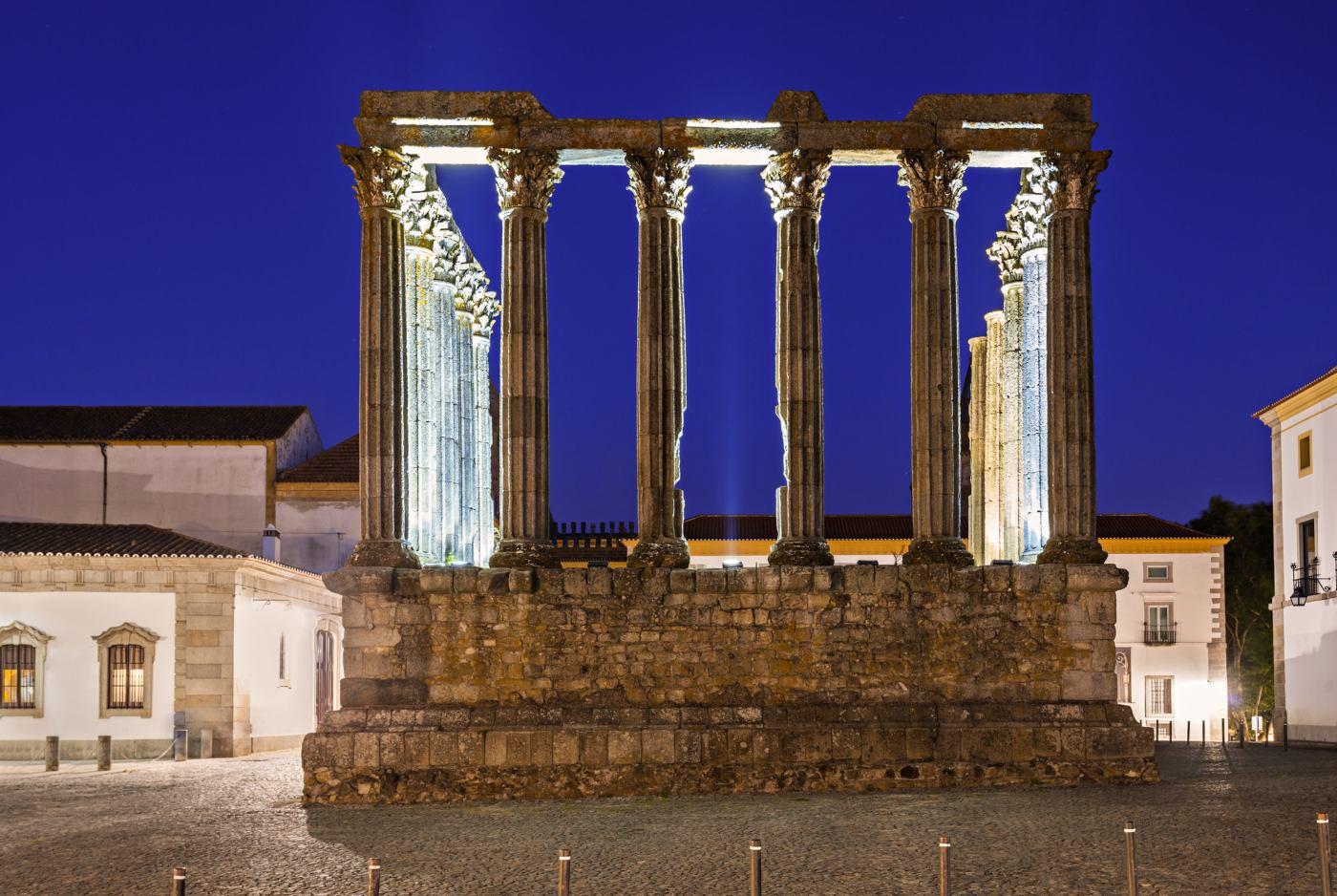 Templo romano em Évora