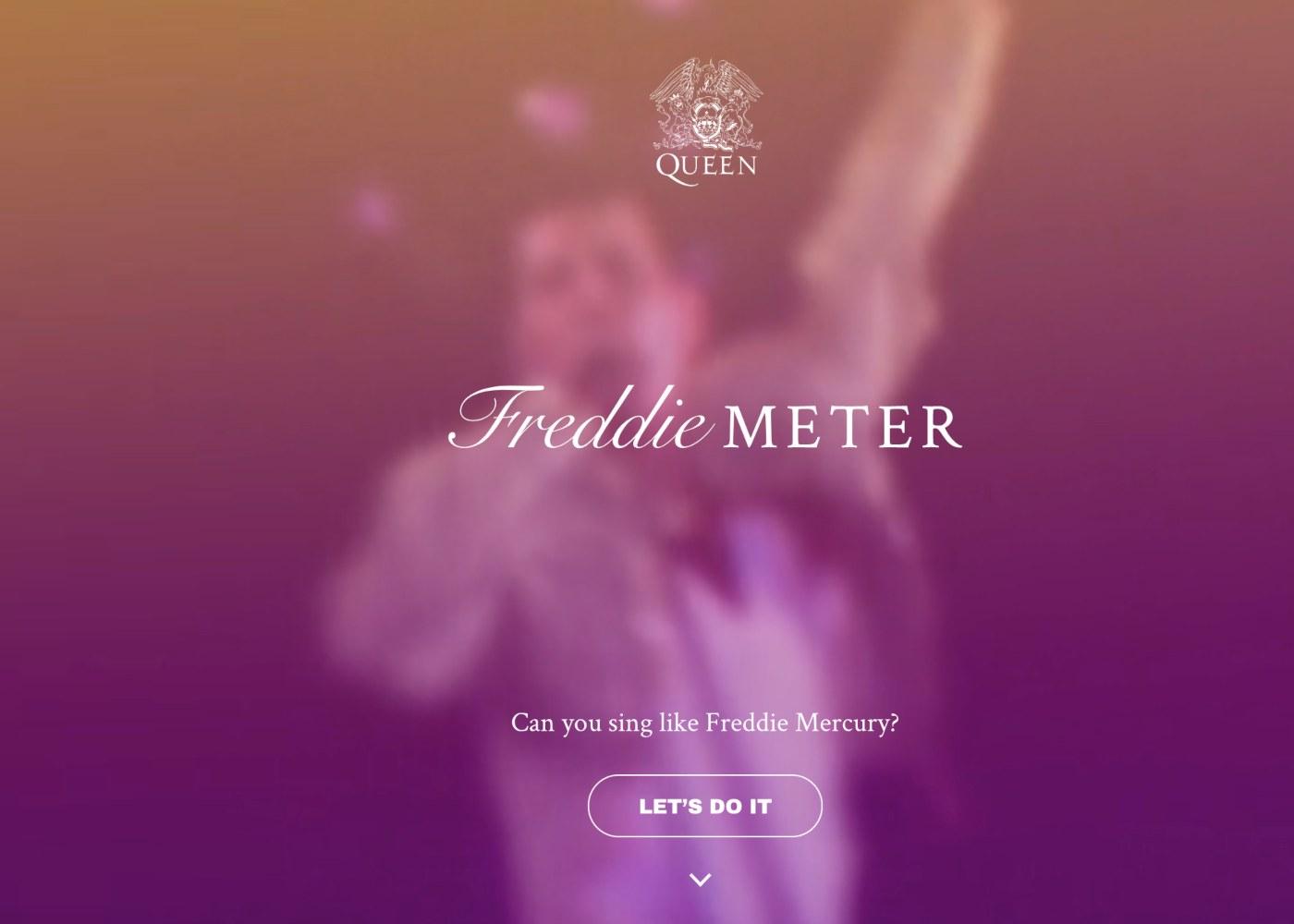 Freddie Mercury vocalista dos Queen