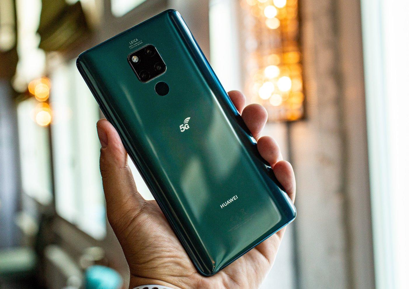 Novo telemóvel Huawei Mate 20 X 5G
