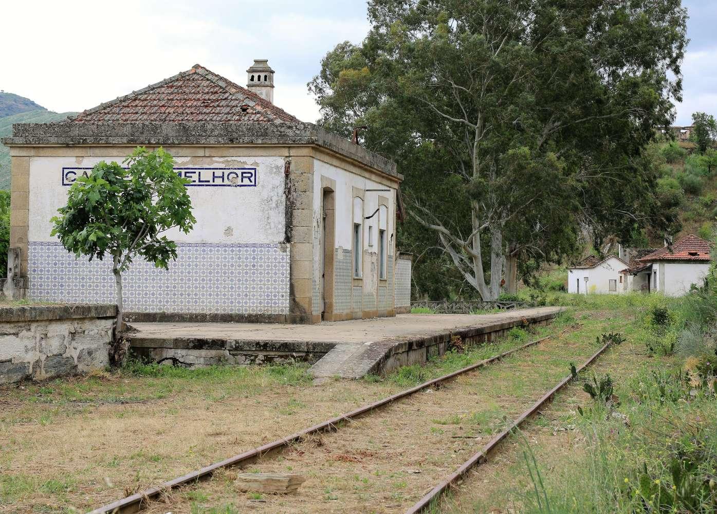 Linha do Douro na rota dos túneis