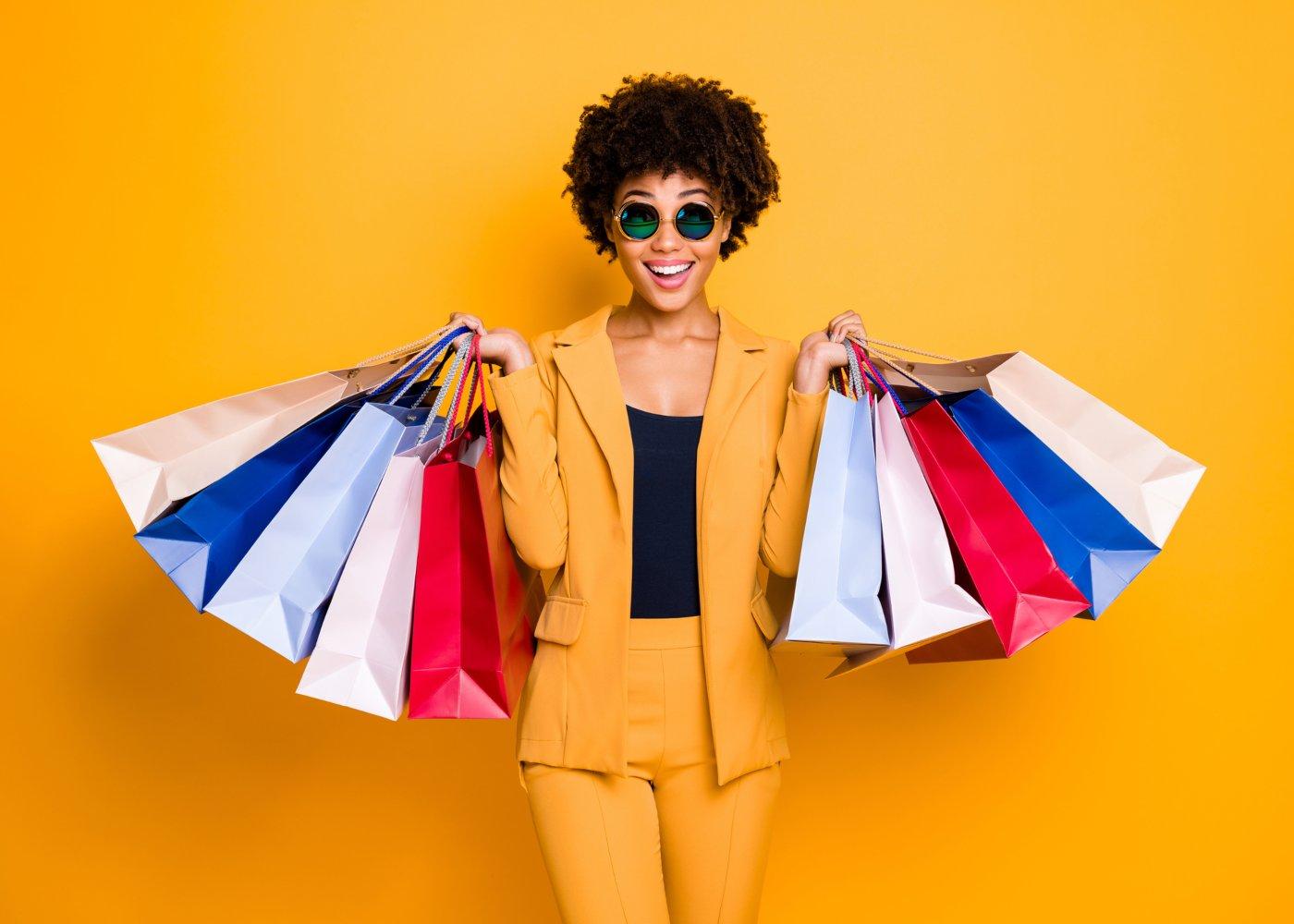Melhores descontos em compras de roupa