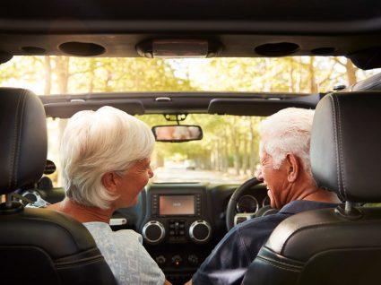 idosos a conduzir