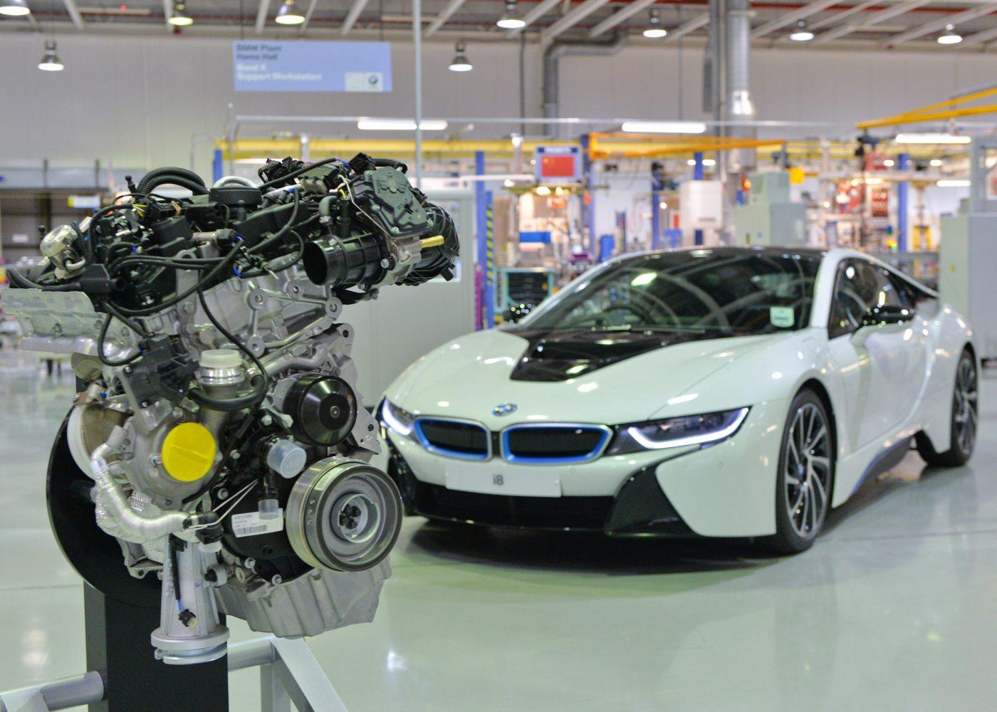 bmw i8 e motor bmw