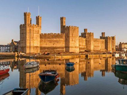 Castelo no País de Gales