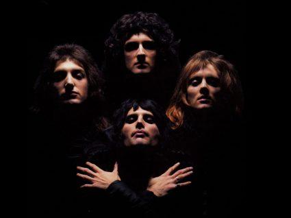 Banda rock Queen com Freddie Mercury