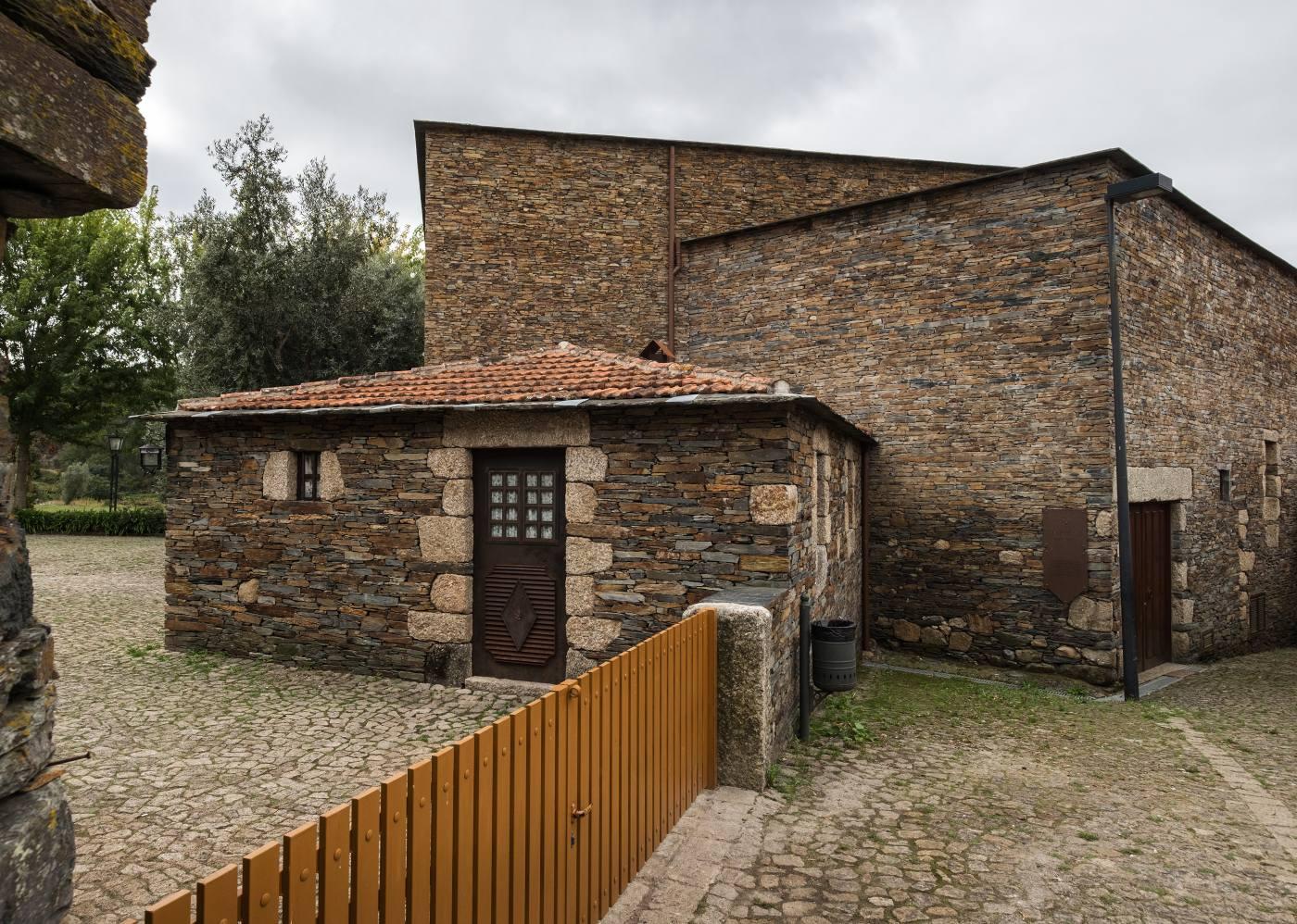 Casas da aldeia de Quintandona