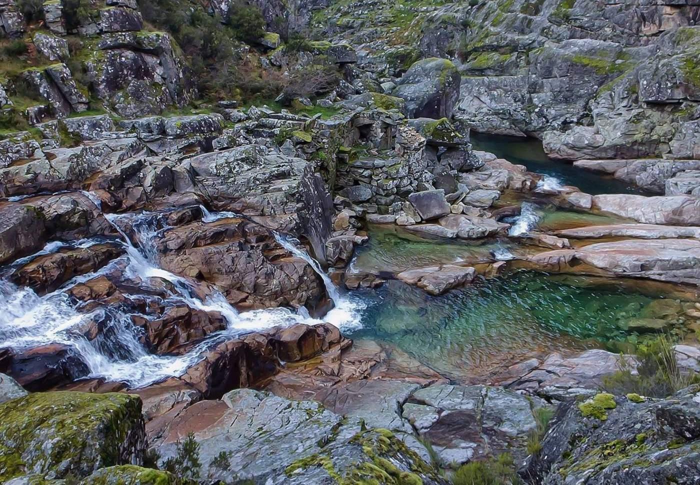 Rio Poio em Ribeira de Pena