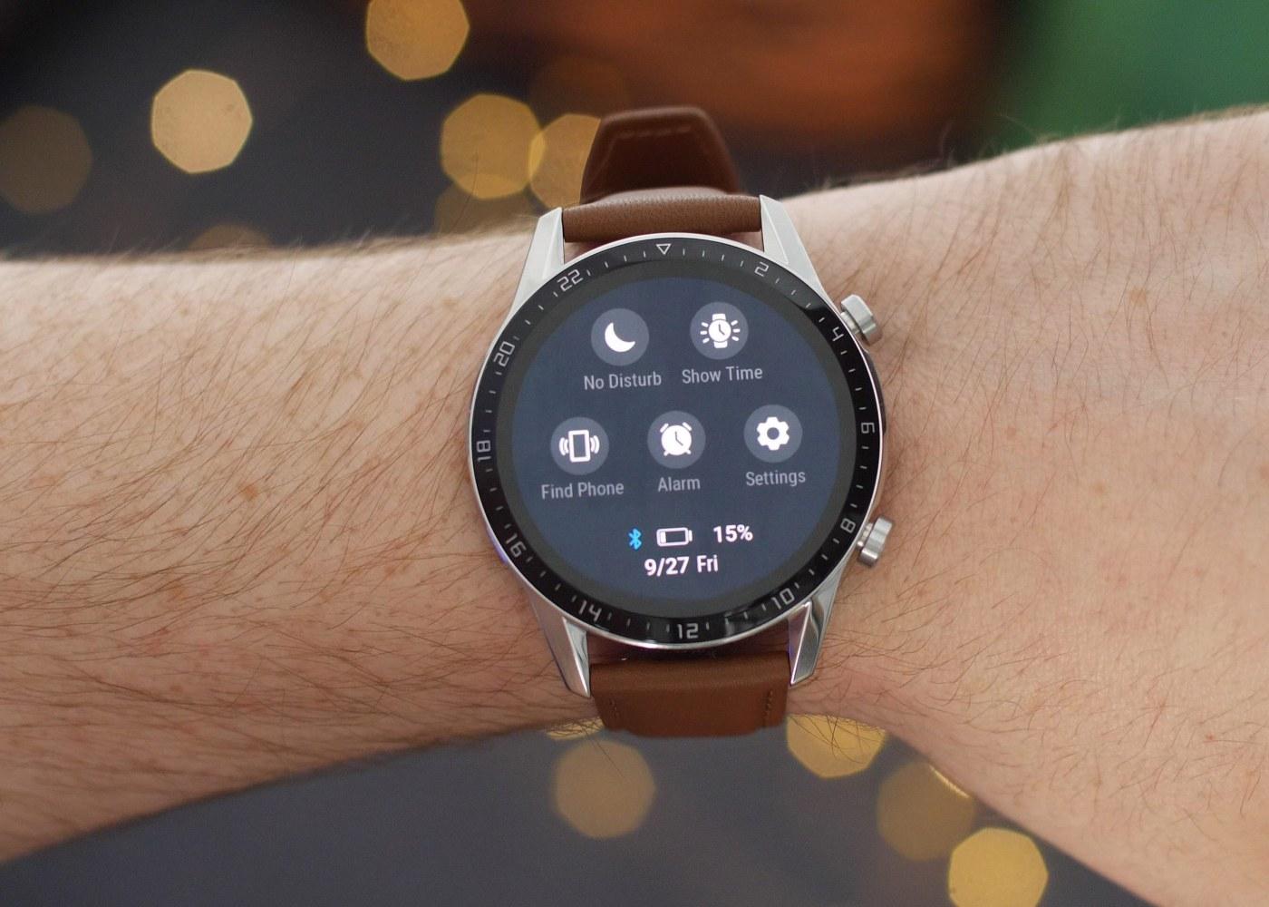 Huawei Watch GT 2 no pulso