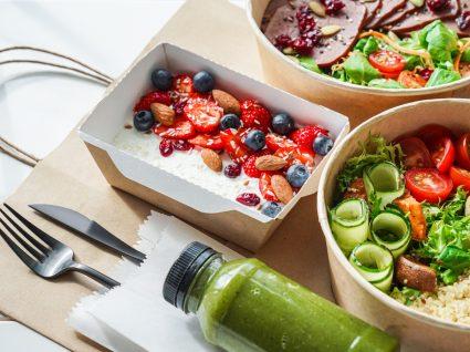 refeição com alimentos bons para o pâncreas