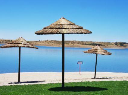Praia fluvial no Alqueva