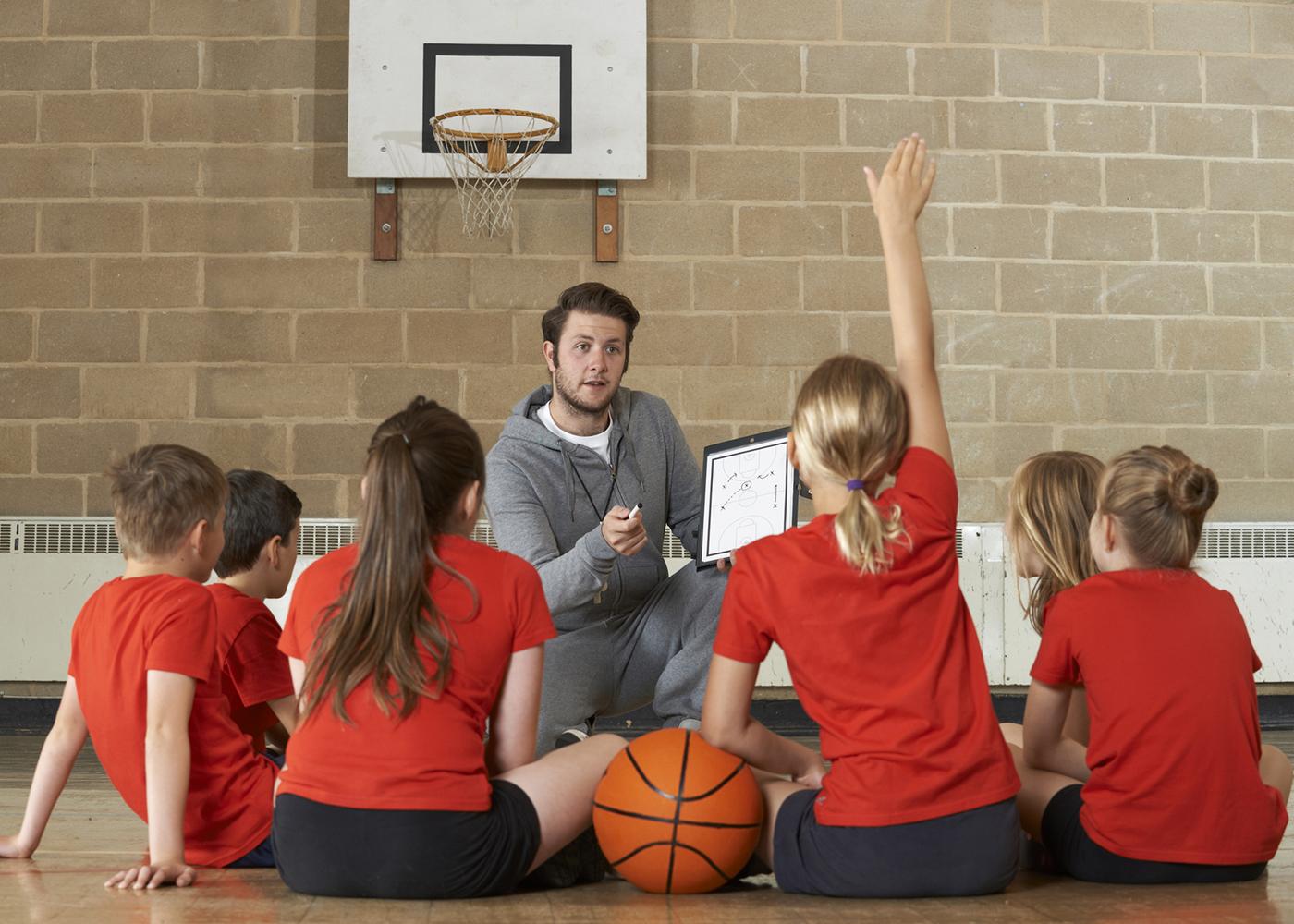 aula de desporto