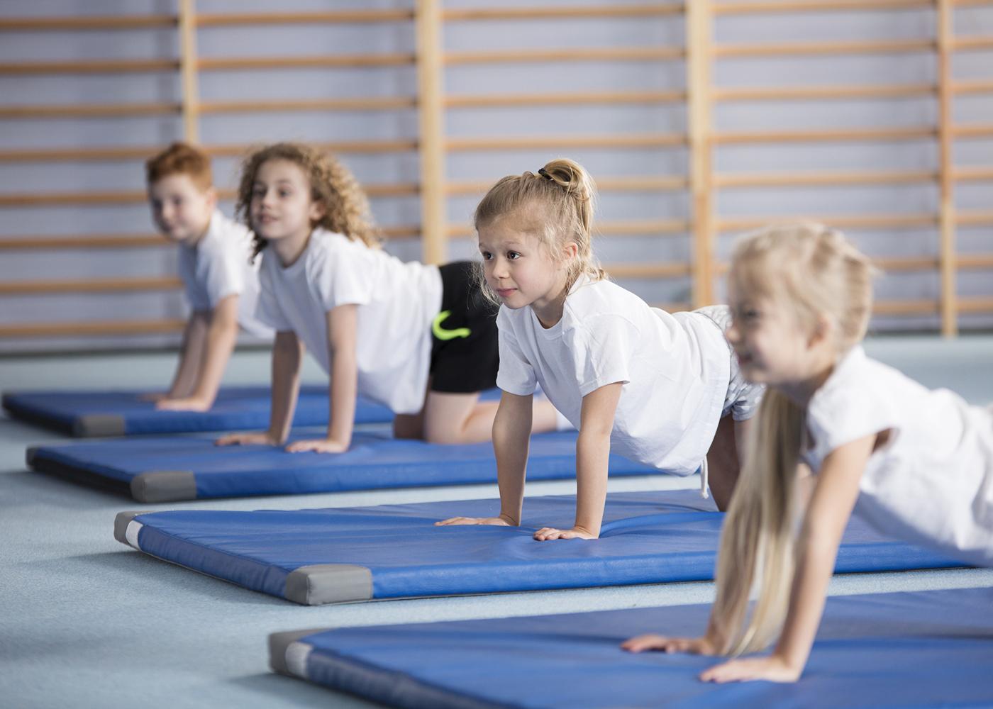 aula de ginástica