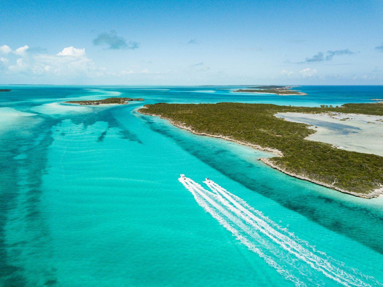 Ilha de Exuma nas Bahamas