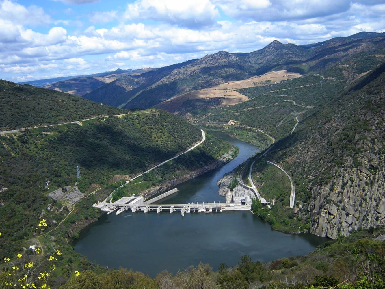 Barragem da Valeira em São João da Pesqueira