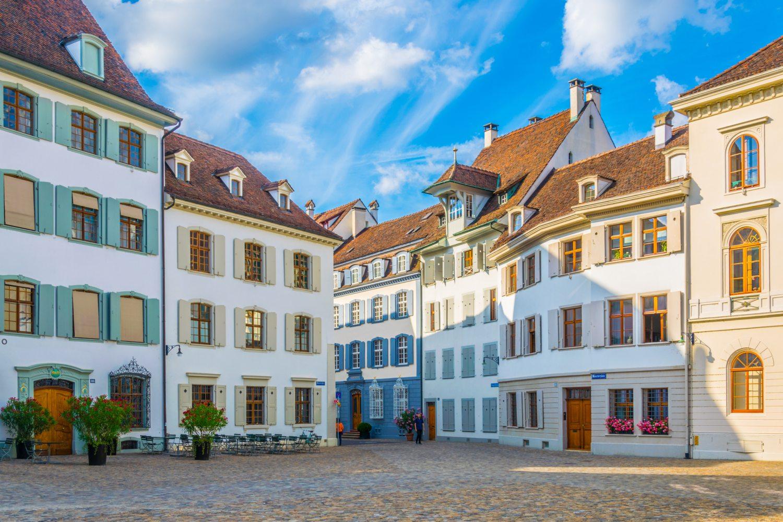 centro histórico de Basileia