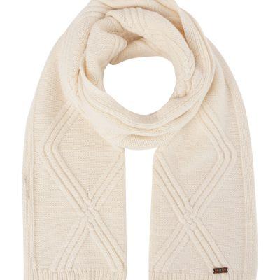 cachecol branco