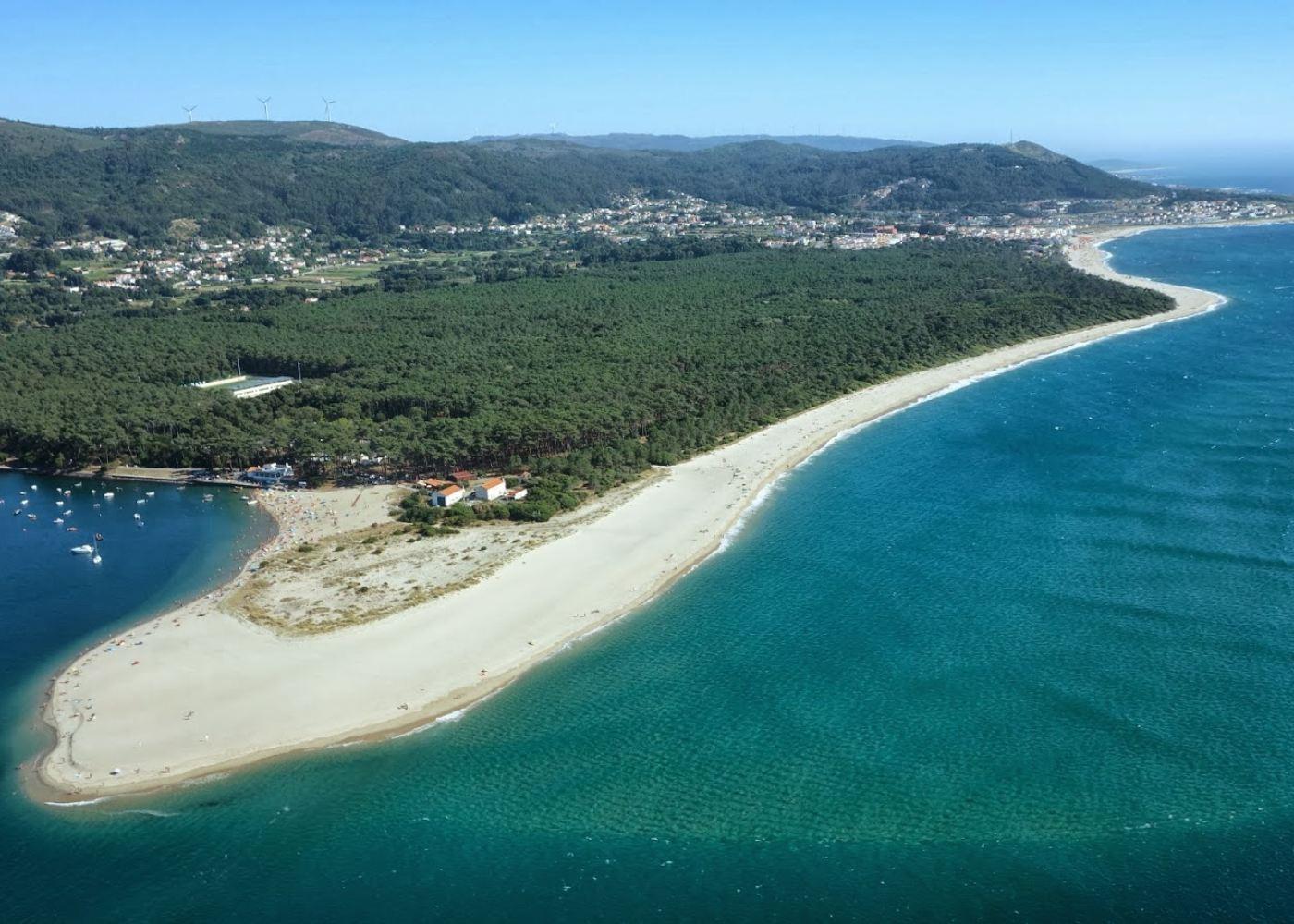 Vista das praias de Caminha
