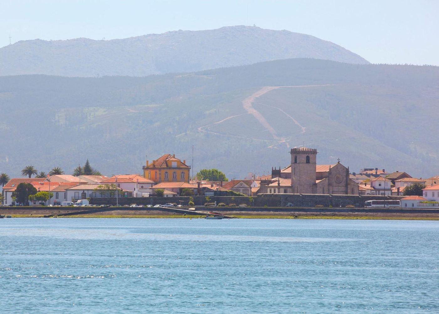 Vista da cidade de Caminha