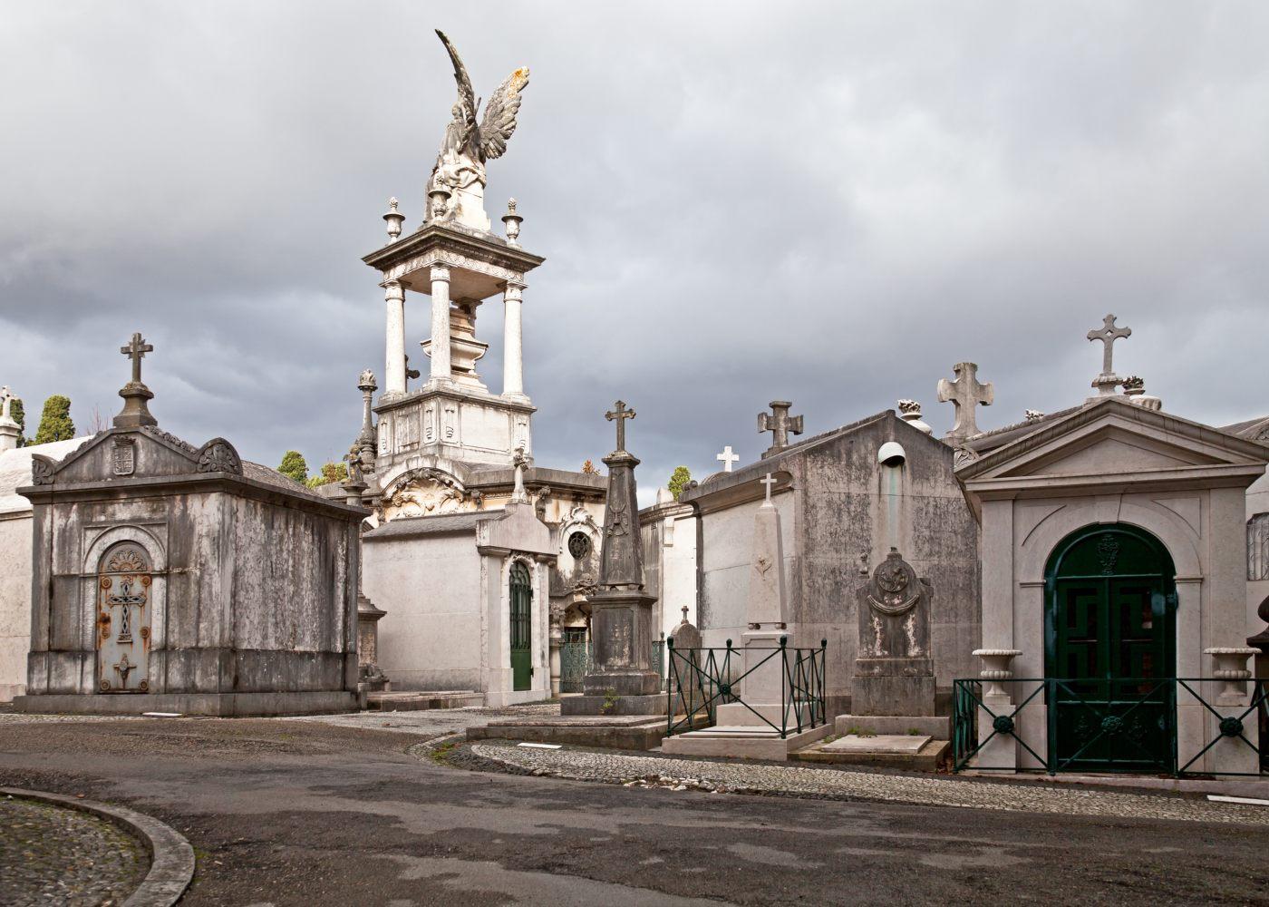 Cemitério dos Prazeres em Lisboa