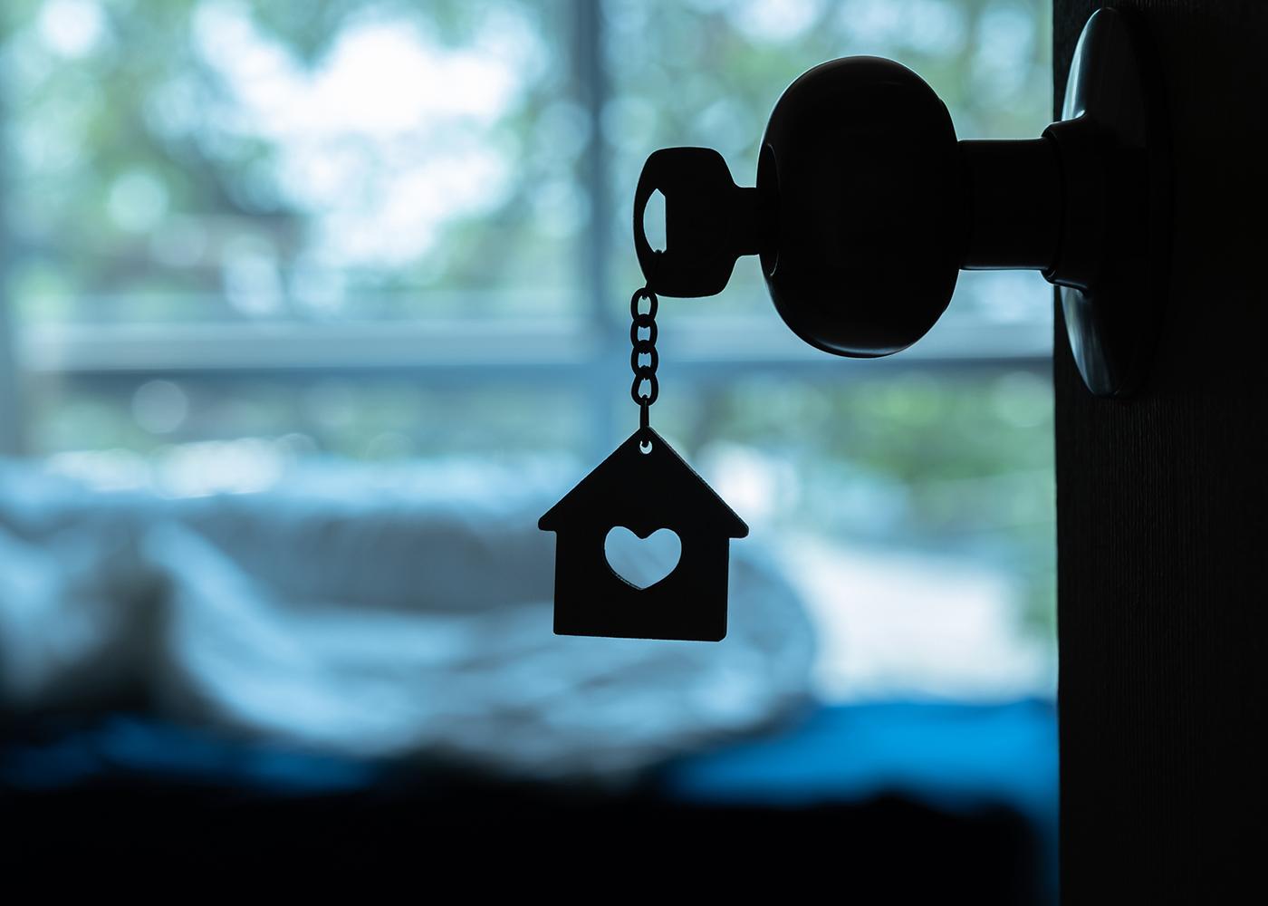 chave fechadura casa