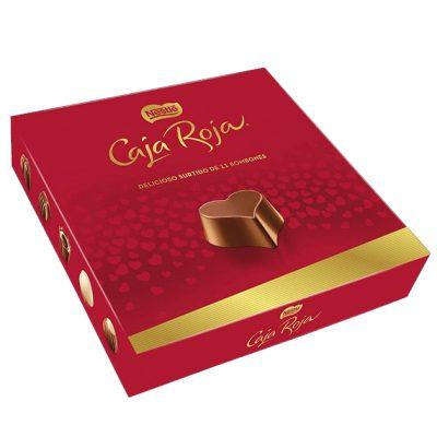 Chocolates Caja Roja Nestlé