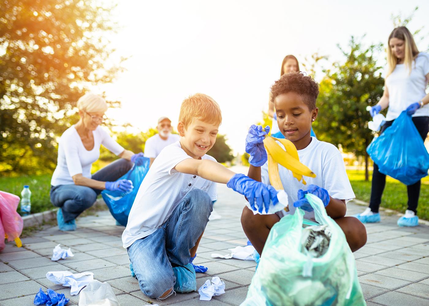 crianças ecologia