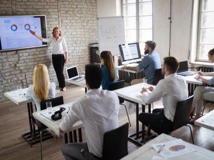 formação numa empresa