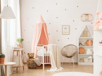 decoração de quarto de bebé