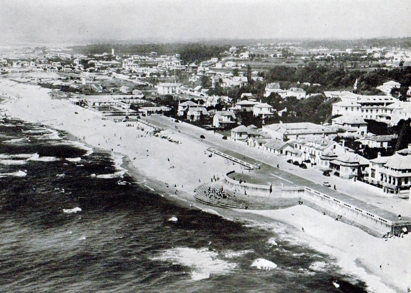 Imagem antiga da Praia da Granja