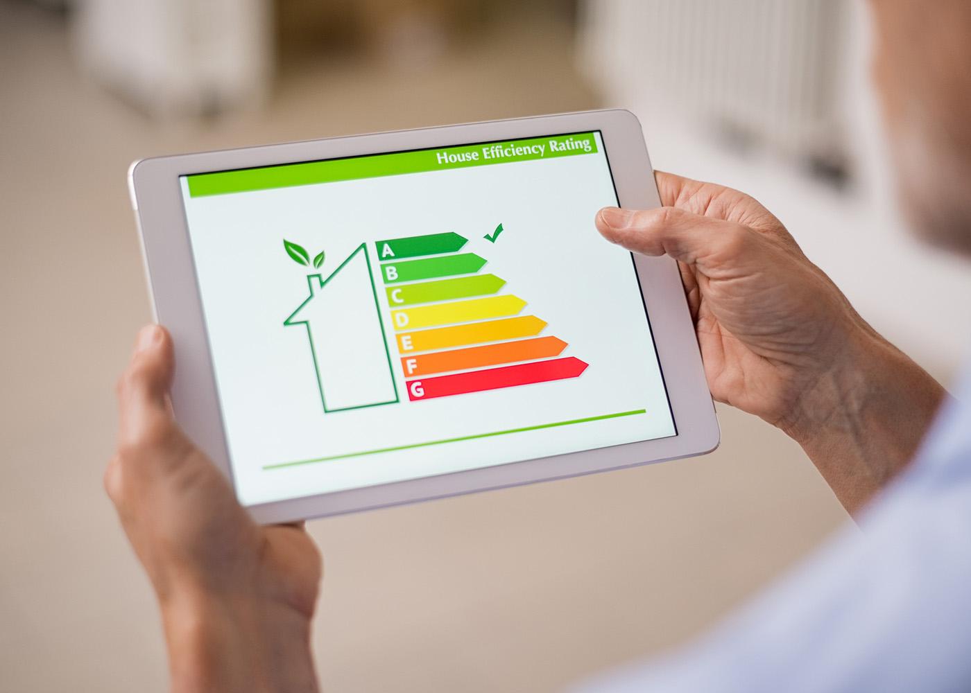 eficiência energética de casa