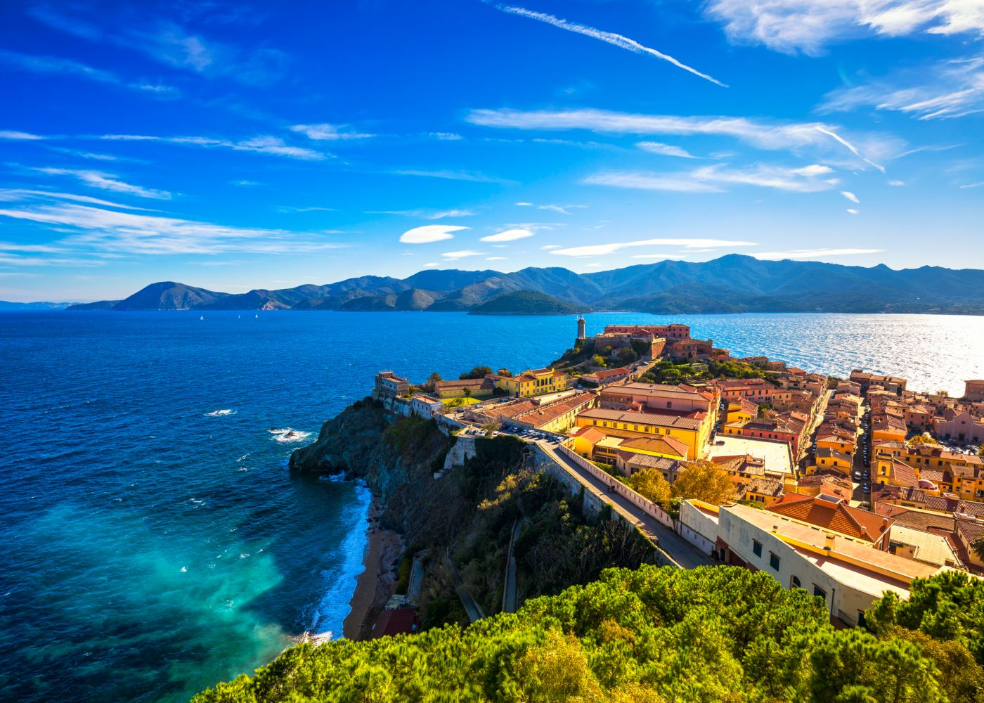 Ilha de Elba na Toscana